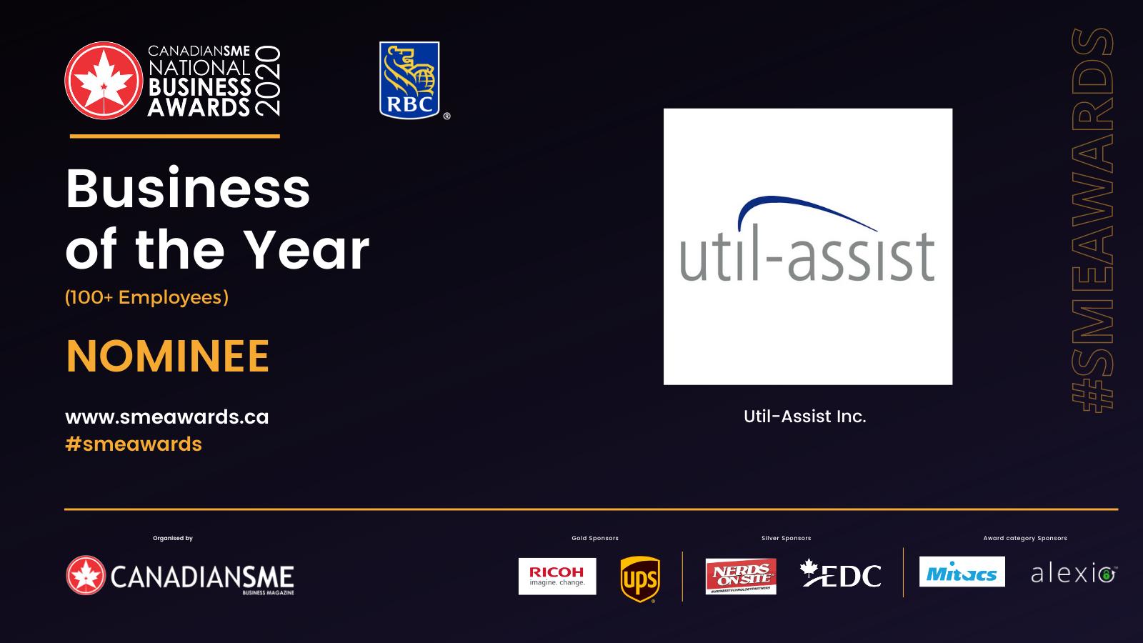 Canadian SME Award Nominee